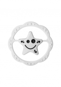 Black and white baby rattle Tullo
