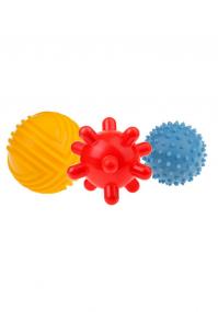Piłki sensoryczne 3 sztuki duże