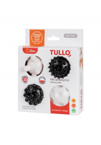 Czarno białe piłki sensoryczne Tullo 4 sztuki