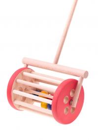 Red drum push toy Tarnawa