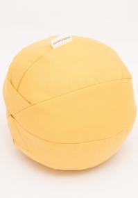 Round yellow nursing pillow Karmiuszka