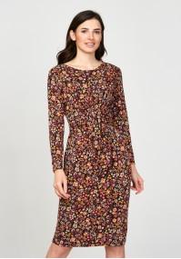 Sukienka 1117701 kolorowa łączka