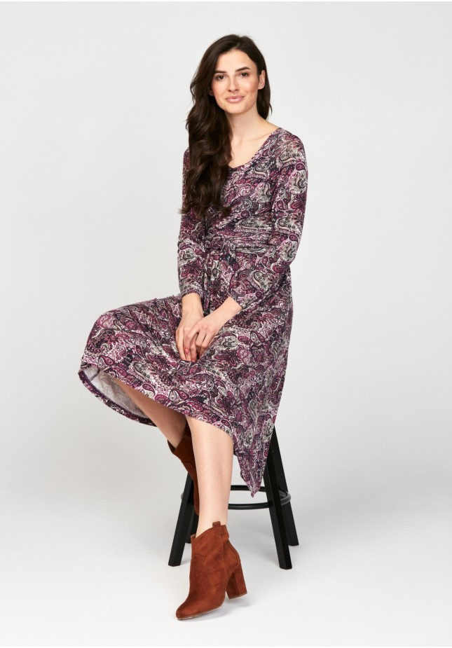 Sukienka 1117715 paisley