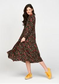 Sukienka 1117720C zielona
