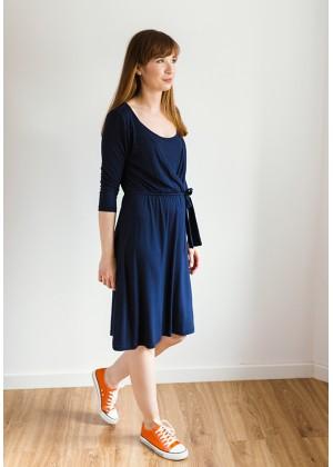 Sukienka 1117414 (granatowa)