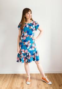 Sukienka 1117402 (turkusowa)