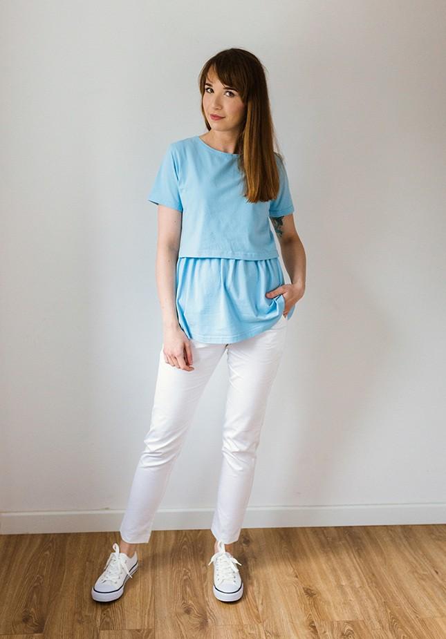 Bluzka 1217406 (błękitna)