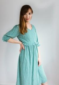 Sukienka 1117415 (miętowa)