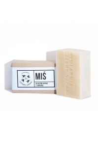 Sensitive soap with lanolin