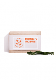 Mydło w kostce Pomarańcza i Rozmaryn